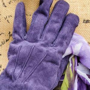 Aris suede gloves XL